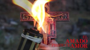 cruz de san damian en mano y elamadoproduceamor